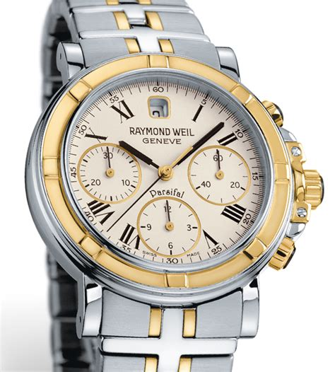 raymond weil parsifal mens chronograph pictures