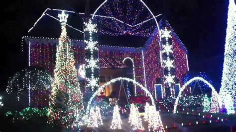 christmas lights in katy tx crazy synchronized christmas lights in katy tx youtube