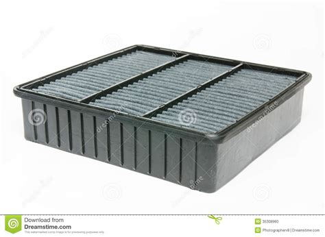 Auto Luftfilter by Car Air Filter Stock Photo Image 35308960