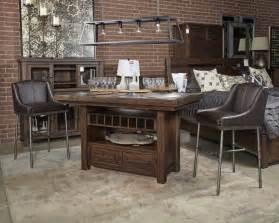 Ashley Bedroom Furniture Set Starmore Brown Upholstered Barstool 2 Cn D633 324
