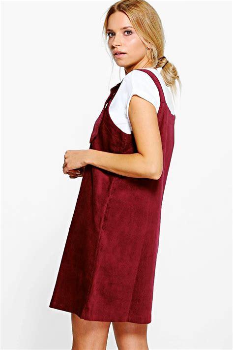 Sale Kimono Mandi Jumbo boohoo womens julie jumbo rib d ring pinafore dress ebay