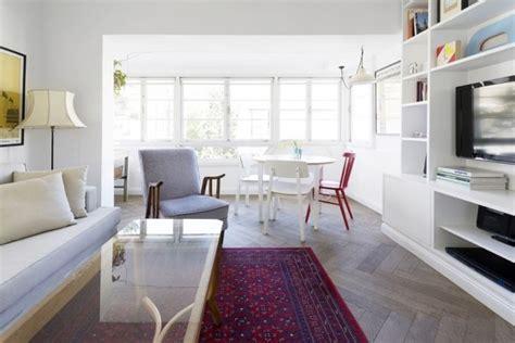 Daylight Apartment Interior With Pure White Wardrobe