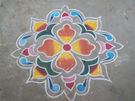 my place rangoli design 3