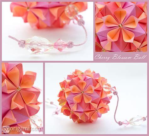 origami cherry blossom cherry blossom credo vsegda