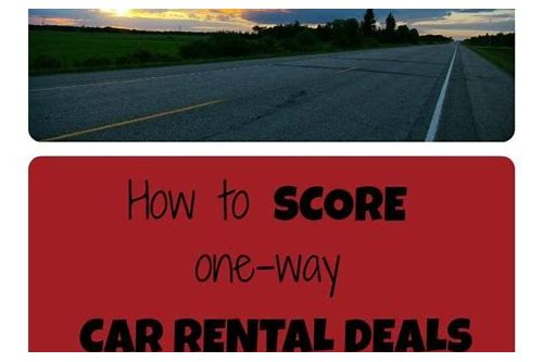 rent car deals enterprise
