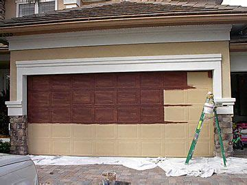Make Metal Garage Door Look Like Wood Creative Casita Wood Look Steel Garage Doors