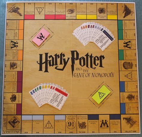 harry potter printable board games harry potter monopoly print it yourself by funkblast on