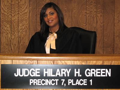 Harris County Jp Court Search About Judge Green