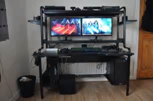 computer desk 3 monitors computer desk 3 monitors