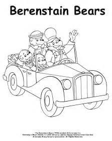 berenstain bears coloring pages coloring activity pages the berenstain bears in