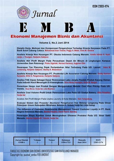 cara membuat jurnal manajemen bisnis jurnal riset ekonomi manajemen bisnis dan akuntansi