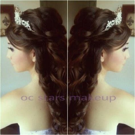 Sweet Hairstyles by Model Hairstyles For Sweet Hairstyles Quinceanera