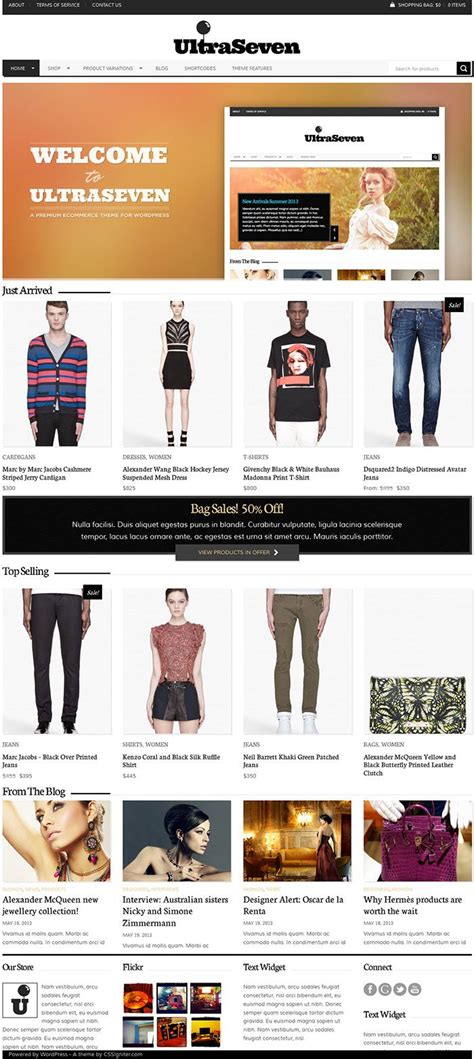 best ecommerce themes 2014 29 best best ecommerce themes 2014 images on