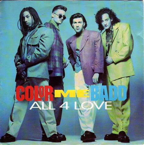color me badd all for 45cat color me badd all 4 album mix all 4