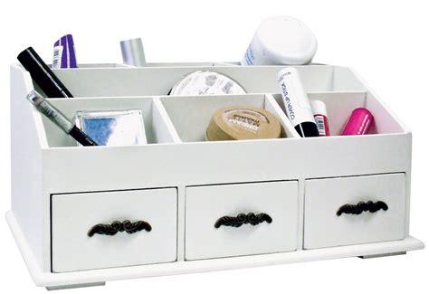 white wood desk organizer white wooden makeup organizer mugeek vidalondon