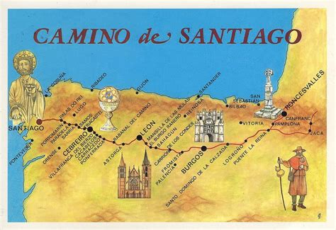 camino de compostela routes el camino de santiago i m walking the way across spain