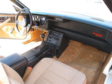 1989 Camaro Interior by 1989 Chevrolet Camaro Z28 Iroc 1le 5 0 L V8 Manual For