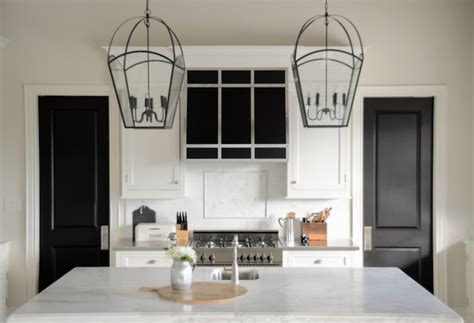 Kitchen Island With Seating For 4 by Island Lanterns Transitional Kitchen Benjamin Moore
