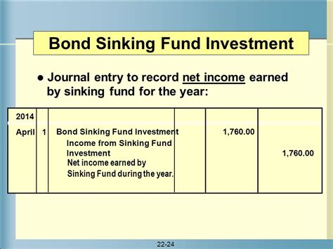 What Is Sinking Fund In Accounting section 1 financing through bonds ppt