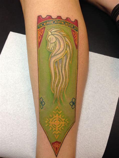tattoo removal kennewick wa my flag of rohan by jarrett spaeth of monarch in