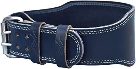 Fitness Senam Leather Fitness Belt rdx cow hide leather 4 quot weight lifting belt back