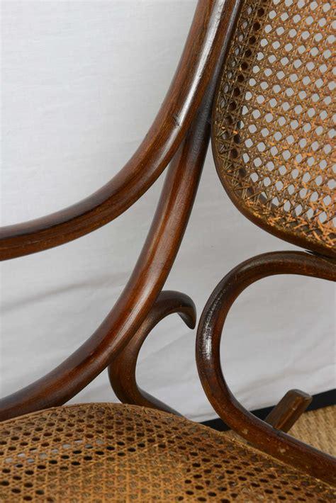 vintage thonet bentwood rocking chair at 1stdibs vintage thonet bentwood rocking chair at 1stdibs
