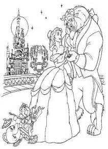 belle beauty beast coloring pages az coloring pages
