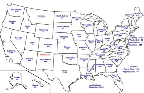 united states map with state names maps of united states of america with state names