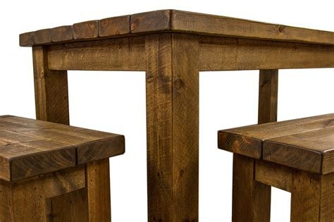 dining table with 2 benches tortuga rustic 6x3 wooden farmhouse dining table with 2