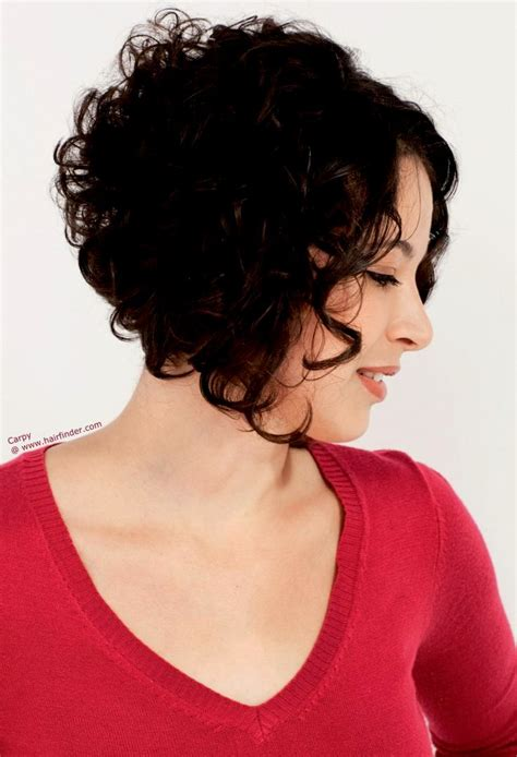 curl in front of hair pic curly hairstyles short back long front hairstyles ideas
