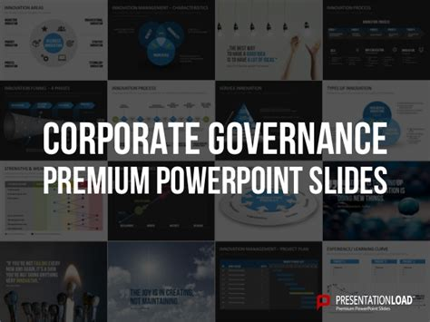 Corporate Governance Ppt For Mba by Corporate Governance Ppt Slide Template