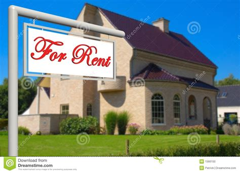 for rent real estate sign stock photo image 1566150