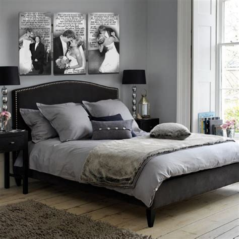 black white and bedroom decorating ideas black and white wedding photos in bedrooms