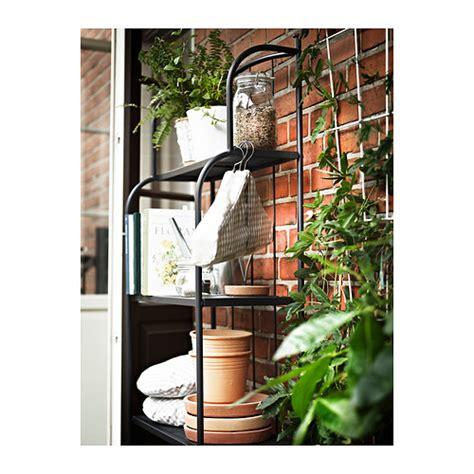 l 196 ck 214 shelving unit outdoor grey 61x160 cm ikea - Etagere Jardin Ikea