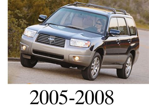 electric and cars manual 2005 subaru forester engine control subaru forester 2005 2008 service repair manual download download