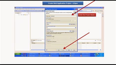 html design using eclipse java ee eclipse create web application project