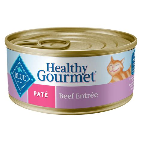 blue buffalo canned food blue buffalo healthy gourmet pate beef canned cat food petco