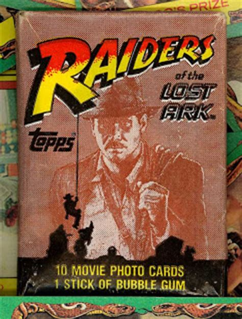 neato coolville topps raiders of the lost ark trading cards