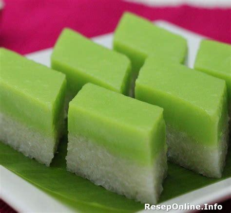 membuat kue engkak ketan resep kue talam ketan pandan yang manis dan legit resep