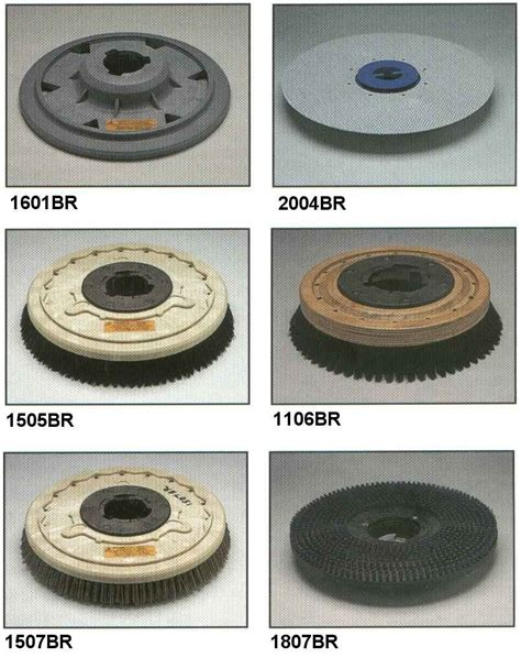 Floor Buffer Parts by Edic Surface Cleaning Tool Accessories