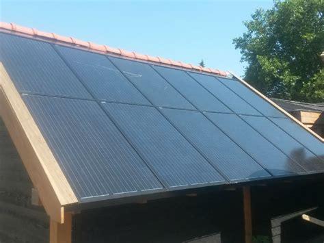 zonnepanelen op tuinhuis autonoom 230v zonnesysteem voor tuin of vakantiehuis