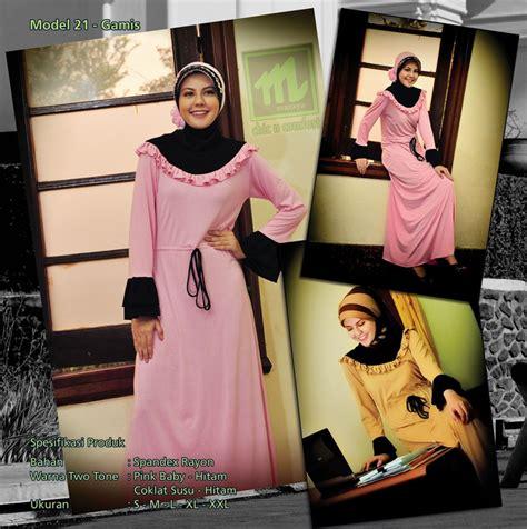 Mazaya Gamis Kaos Model 30 mazaya busana muslimah 2nd edition mazaya kaos muslimah
