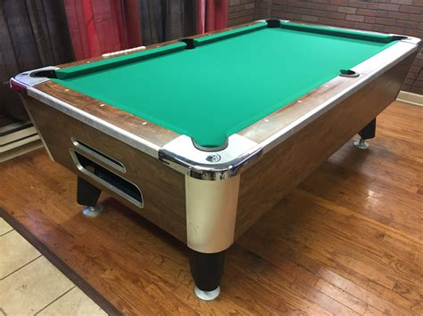 table 032717 used coin operated bar pool tables