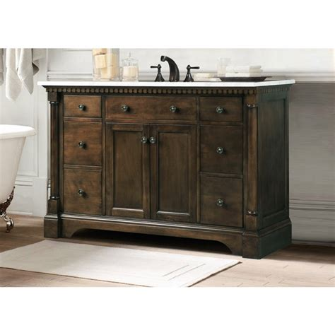 48 single sink vanity with backsplash legion furniture 48 quot antique coffee sink vanity with