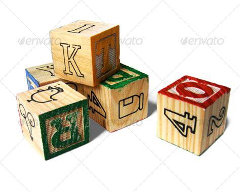 wooden block letters wooden alphabet letter blocks by design scout graphicriver 1723