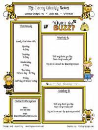 custom classroom newsletter printable sample home
