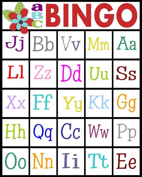 printable alphabet recognition games sassy sanctuary abc s bingo free printable