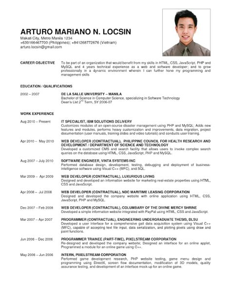 Business Resume Format by Business Administration Resume Sles Sle Resumes