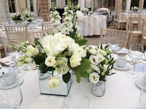 wedding table flower centerpieces uk wedding reception venue flowers 171 wedding flowers by louise