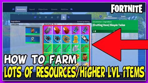 fortnite new items fortnite farming guide how to farm lots of resources